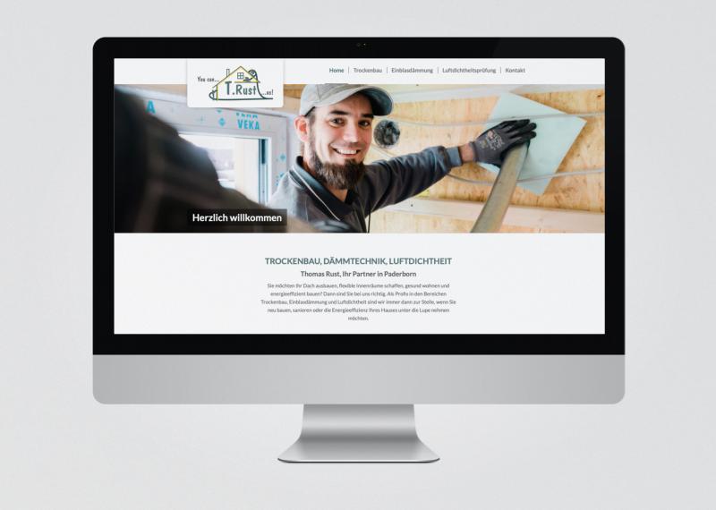 Thomas Rust Trockenbau Website